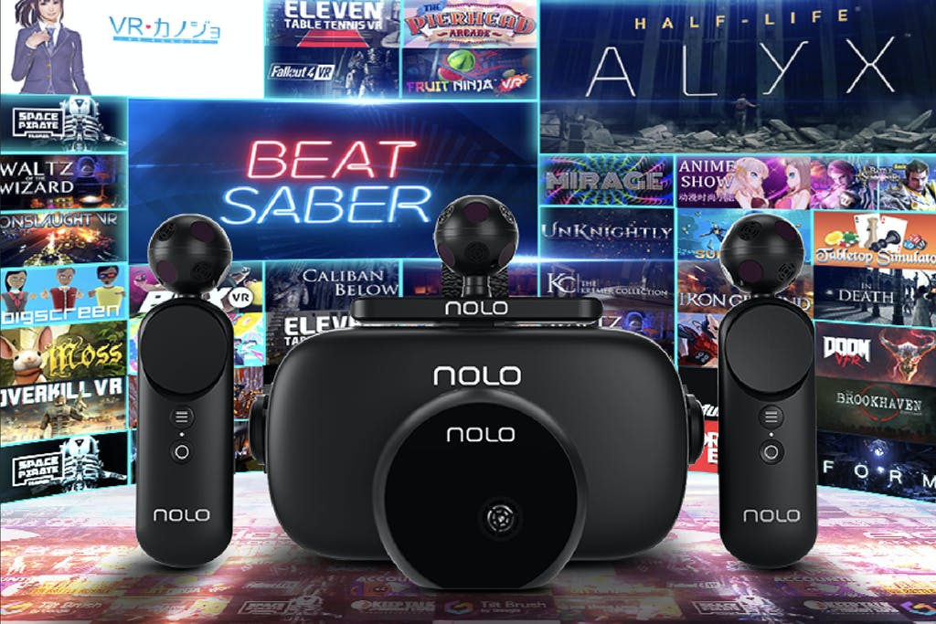 スマホが6DoF対応の次世代VRに!トラッキング&ヘッドセット NOLO VR