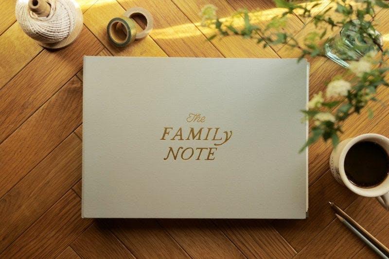 """今こそ家族のチーム化を。感情のアルバム""""FAMILY NOTE""""を届けたい!"""