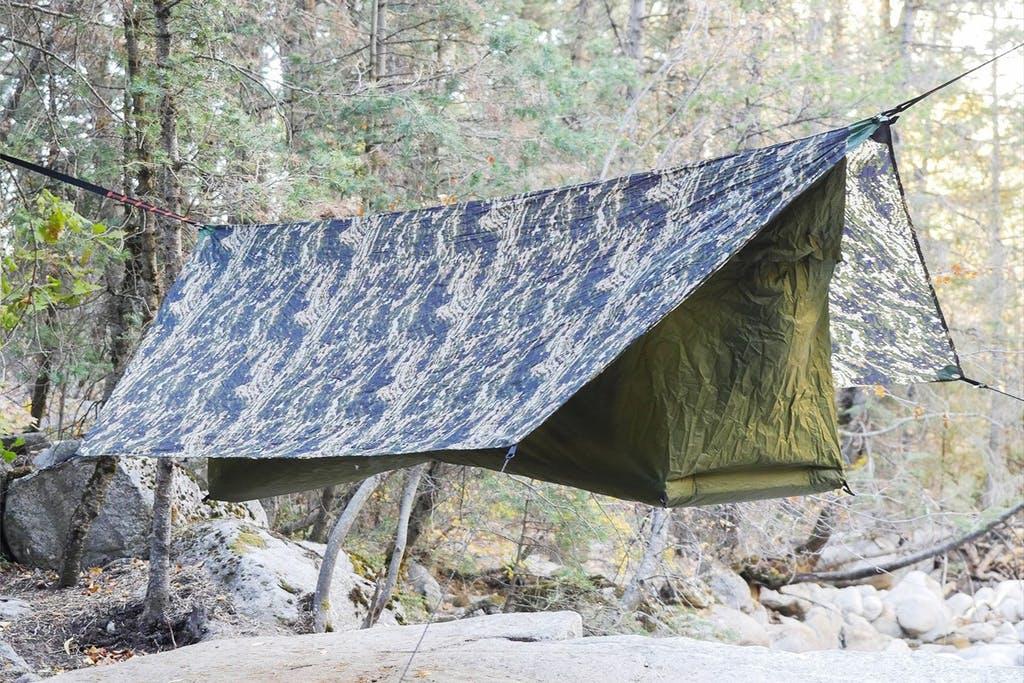 新色と新モデルが登場!テントとハンモックのいいとこ取り「Haven Tent」