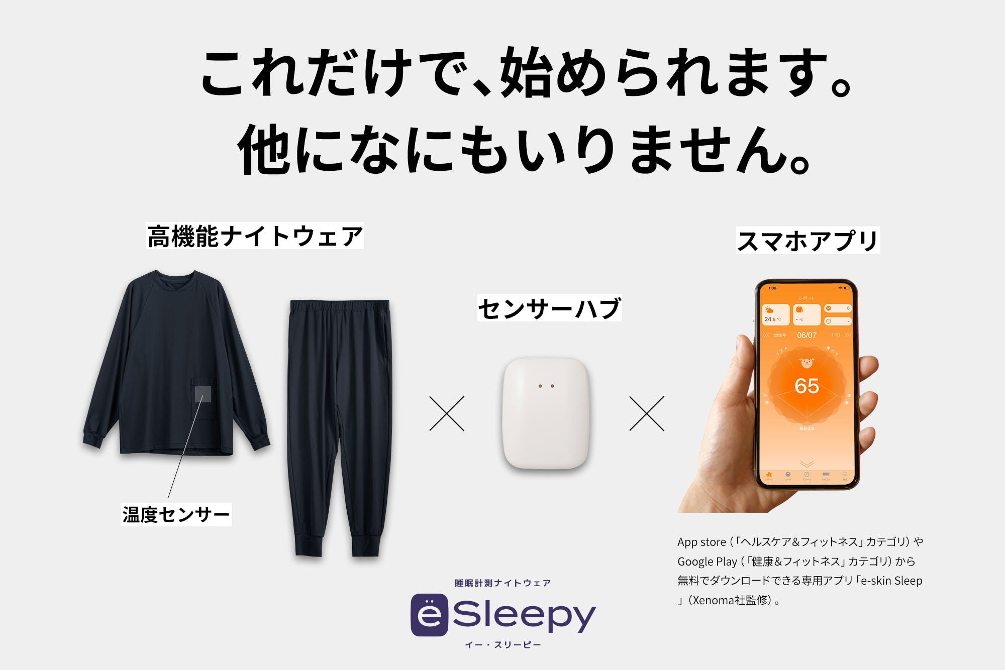 あなたの睡眠にアプローチする、0.5歩先行く睡眠改善ナイトウェア_2